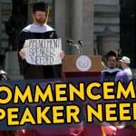 Commencement Speaker's Corner